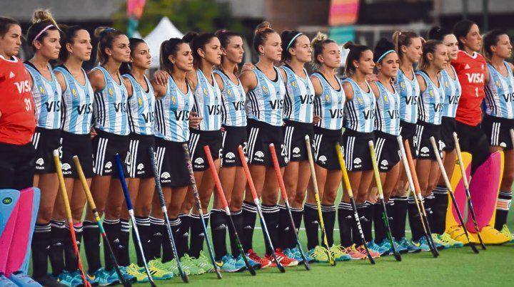 Hay equipo. La selección femenina de hockey sobre césped jugará ante las norteamericanas desde hoy hasta el domingo en el estadio de Natación y Gimnasia de Tucumán.