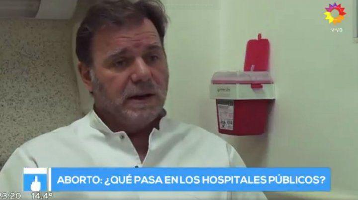 El jefe de Guardia del Hospital Alvarez