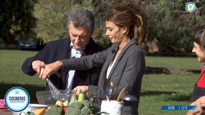 Macri recibió a Cocineros Argentinos y saldó la polémica con Calabrese