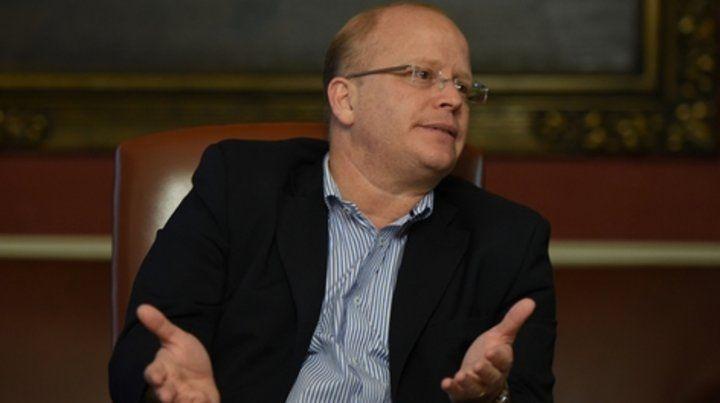 Incómodo. El diputado Luis Contigiani lanzó duros conceptos hacia la militancia socialista y algunos dirigentes. Después