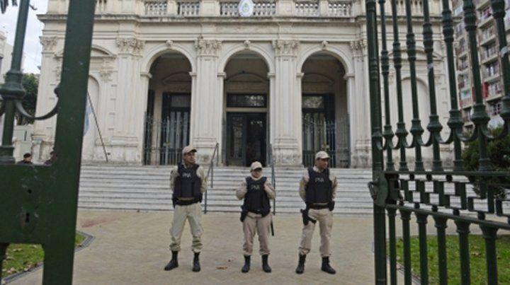 Fuero clave. En los juzgados federales de Rosario se tramitan centenares de causas relacionadas con el narcotráfico.