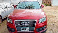 Caminado. Cuando apareció el domingo, El Audi de la víctima tenía unos 300 kilómetros más que al ser robado.
