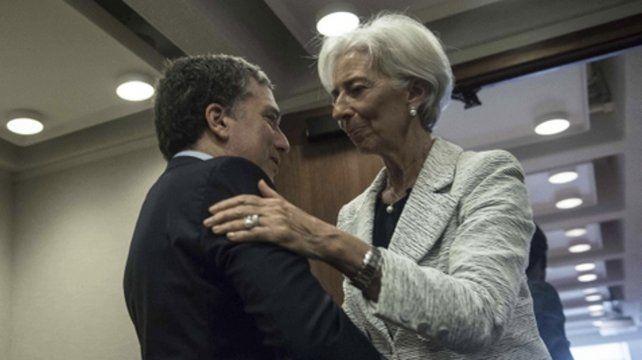 Dujovne y Lagarde. El acuerdo con el FMI tendrá efecto económico.