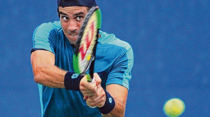 Con autoridad. El tenista bahiense se metió en segunda ronda en el ATP 250 de Stuttgart