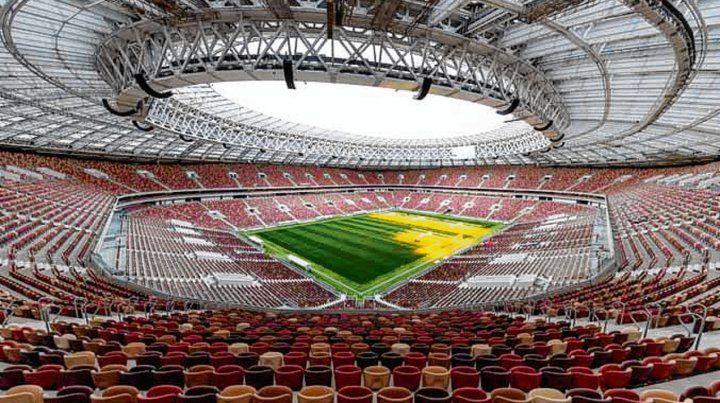 Imponente. El estadio donde se hará la ceremonia inaugural