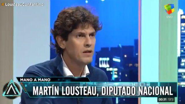 Lousteau: Si no respetamos las opiniones distintas, Argentina no tiene destino