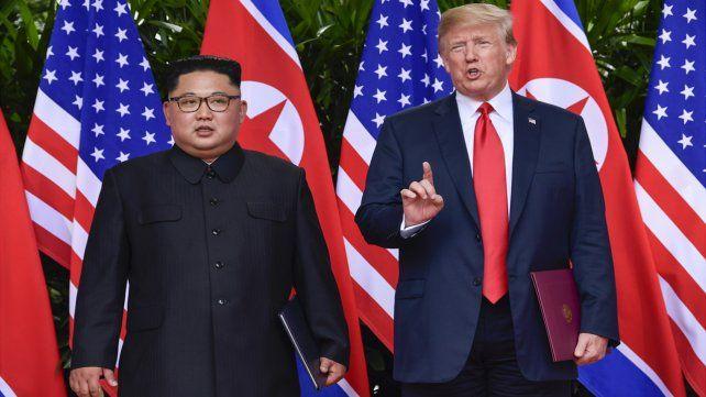 Trump aseguró que Corea del Norte se va a desarmar rápidamente