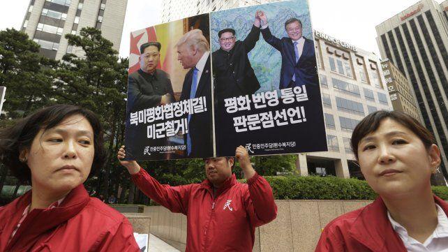 La  cumbre histórica entre Donald Trump y Kim Jong-un, en imágenes