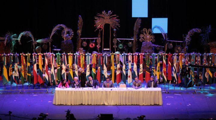 La ceremonia inaugural de la III Conferencia Regional de Educación Superior (Cres)