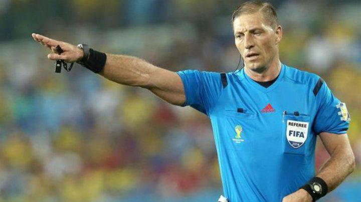 El argentino Néstor Pitana será el árbitro del partido inaugural del Mundial