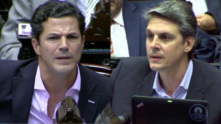 El diputado Luciano Laspina y AlejandroGrandinetti votarán en contra de la despenalización del aborto.