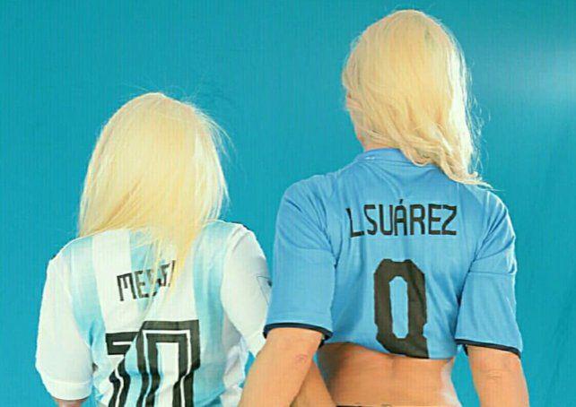 Dos reconocidas vedettes calentaron un posible cruce entre Argentina y Uruguay