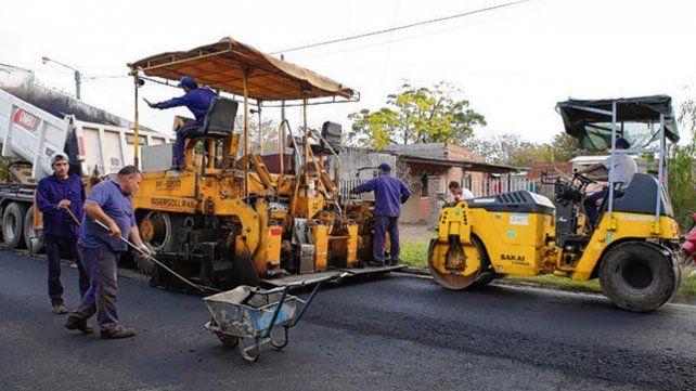 Proyecto. El municipio apunta a eliminar las calles de tierra.