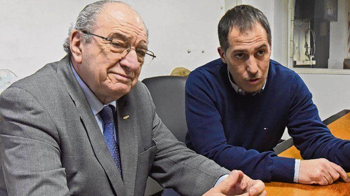 Generaciones. Elías Soso y Miguel Angel Rucco Gulam.