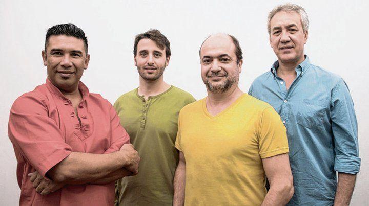 El cuarteto Karé