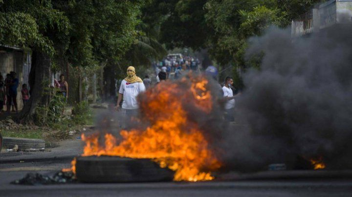 Nicaragua violenta.