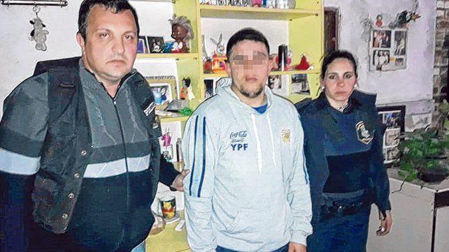 Pablo Guevara. El cuñado de la enfermera Marcela Coronel está acusado de asesinarla en ocasión de robo.
