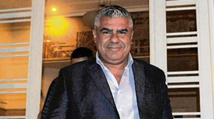 El titular afista Claudio Tapia.