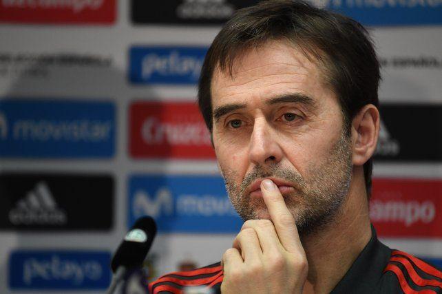 Julen Lopetegui fue despedido de la dirección técnica del seleccionado de España.