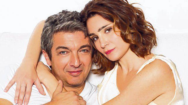 Otros tiempos. Ricardo Darín y Valeria Bertuccelli, antes del caos. A ella la reemplazó Erica Rivas y Andrea Pietra.