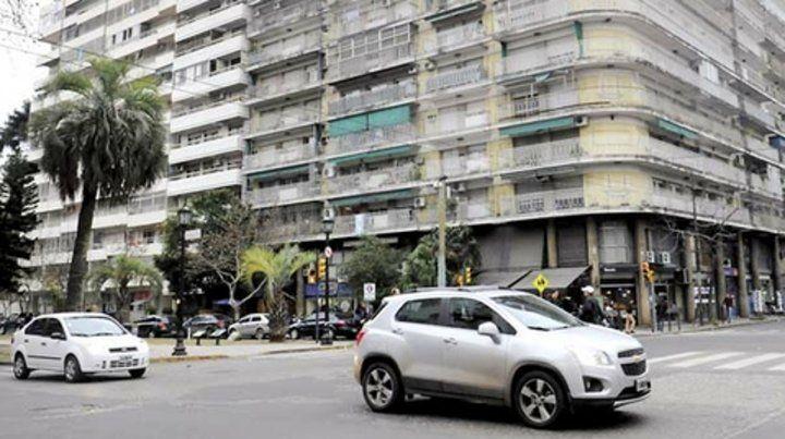 Padecimiento. El edificio de Oroño y Mendoza estuvo varios meses sin el suministro de gas natural.