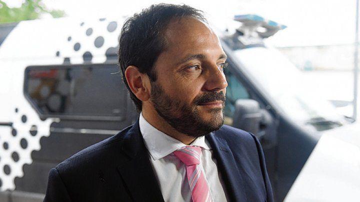Acusación. El fiscal Adrián Spelta llevó adelante la imputación.