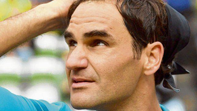 Mira adelante. Federer ya piensa en lo que viene.