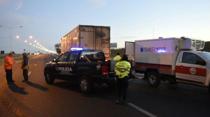 El accidente se produjo en Circunvalación y Uriburu. Fue poco después de las 5.
