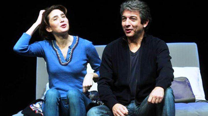 Otros tiempos. Ricardo Darín y Valeria Bertuccelli