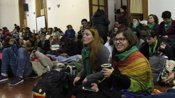 La alegría por la ley de aborto legal se trasladó de Humanidades al Monumento