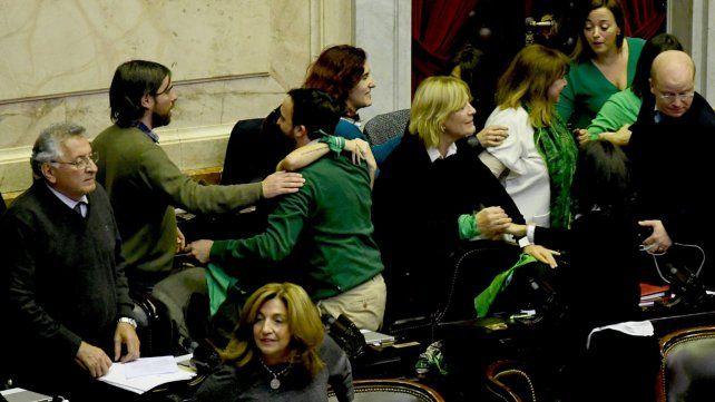 La ley de aborto legal obtuvo la media sanción de la Cámara de Diputados