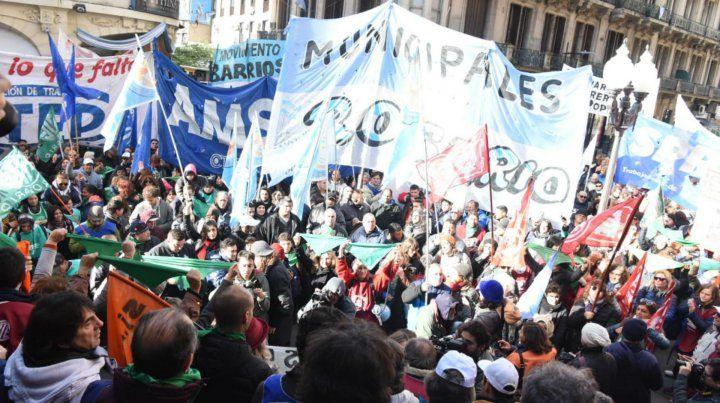 La manifestación llegó hasta Córdoba y Corrientes