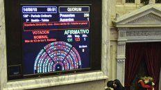 uno por uno como votaron los diputados la ley del aborto