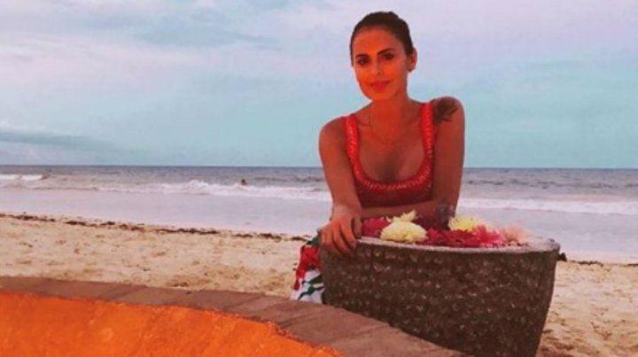 Silvina Luna vive días de relax y una onda muy natural