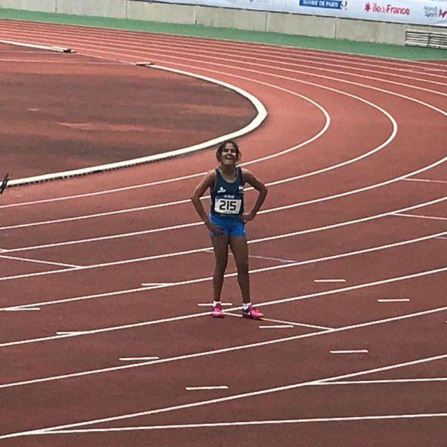 Yanina Martínez se volvió a colgar una medalla de oro