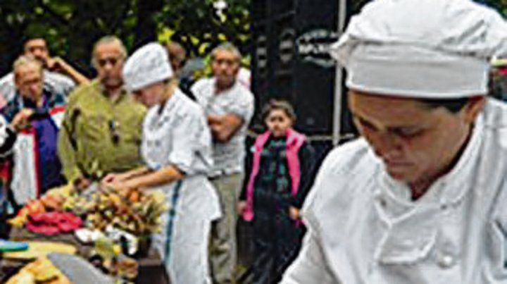 Fiesta popular en Escobar