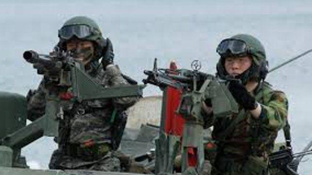 Estados Unidos reiteró lo acordado sobre la suspensión de sus maniobras  en Corea del Sur