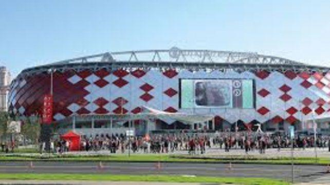 Un lujo. La selección jugará con Islandia en el estadio que pertenece al Spartak Moscú. Fue inaugurado hace cuatro años y su remodelación costó 224 millones de dólares.