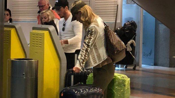 Nicole Neumann contó detalles del vuelo hot junto a su nuevo novio
