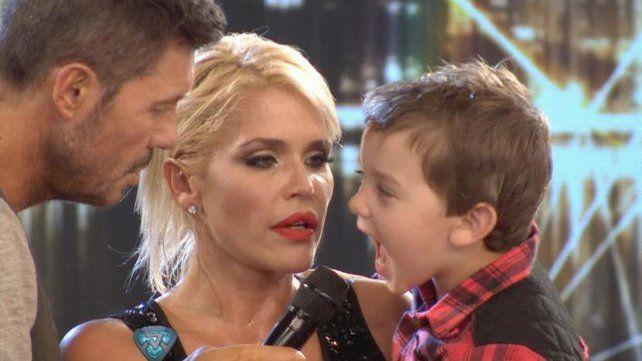 El dolor de Nazarena Vélez por la salud de su hijo Thiago