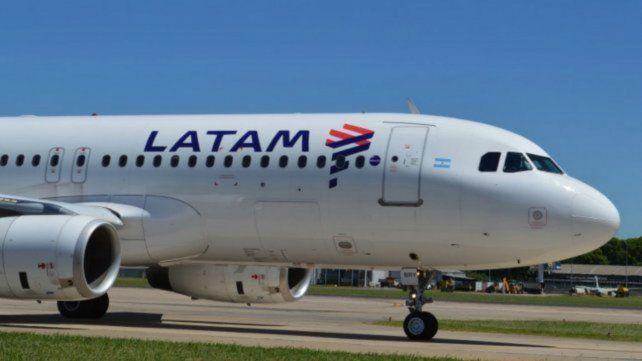 Un avión de Latam no pudo despegar por la escarcha en el avión. (Foto de archivo)