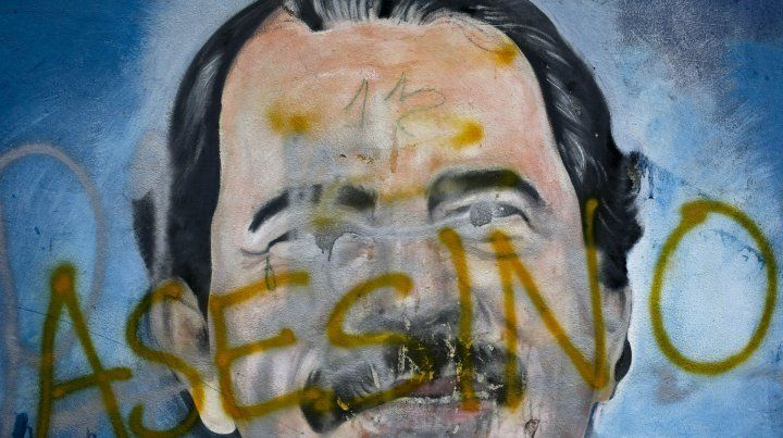 Repudio. La figura de Ortega se ha vuelto profundamente impopular.