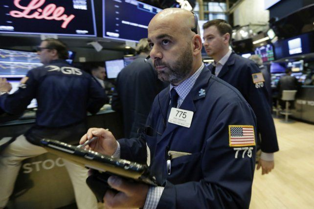Bajas. Wall Street sintió el impacto de la tensión comercial con China.