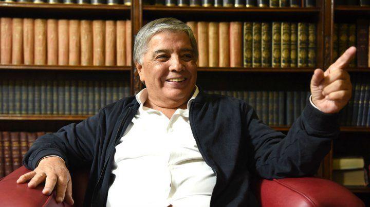 Dirigente. Oscar Rabanito Barrionuevo