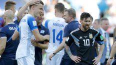 deslucido empate de argentina ante islandia