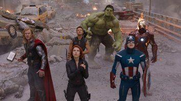 La primera película de Los Vengadores (The Avengers, de 2012) batió récords de taquilla.