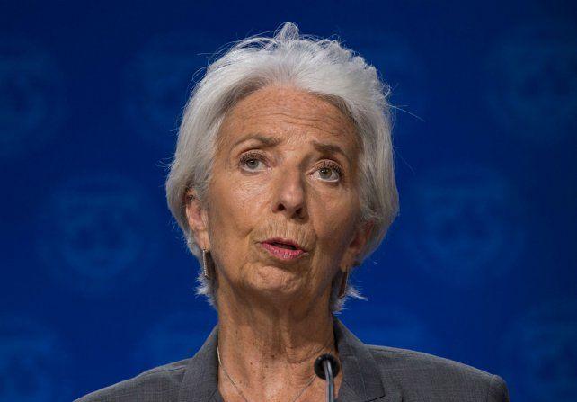 La titular del Fondo Monetario Internacional