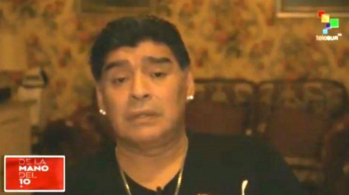 Maradona: Jugando así, Sampaoli no puede volver a la Argentina