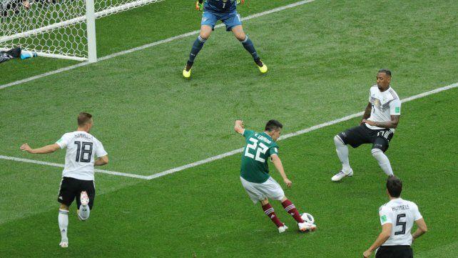 El Instituto de Investigaciones Geológicas y Atmosféricas dijo que el gol de Lozano provocó un temblor en Ciudad de México. El Servicio Sismológico Nacional lo negó.