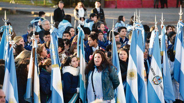 Chicos. Desde el entorno de Macri quieren reeditar el acto de 2016.